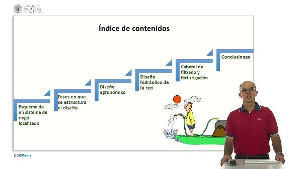 Fases del diseño de un sistema de Riego Localizado