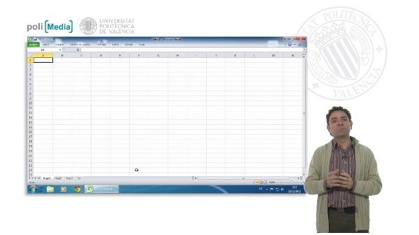 Hojas de cálculo. Excel 2010