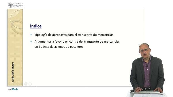 Alternativas para el transporte aéreo de mercancías.