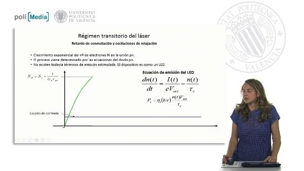 Régimen transitorio del láser