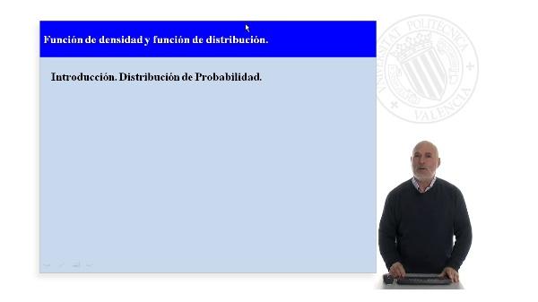 Función de densidad y función de distribución