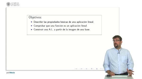 Aplicaciones Lineales Propiedades Basicas