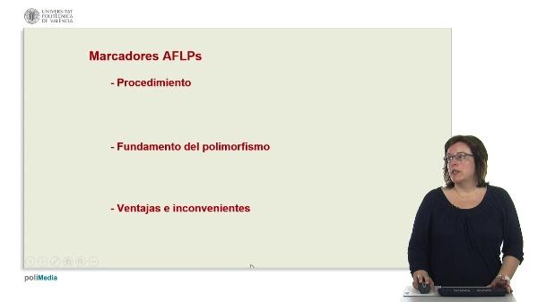 Marcadores de DNA basados en la PCR: AFLPs