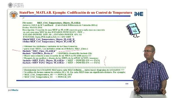 Curso de ingeniería del software para sistemas embebidos. Modulo 13 parte 10. StateFlow_MATLAB