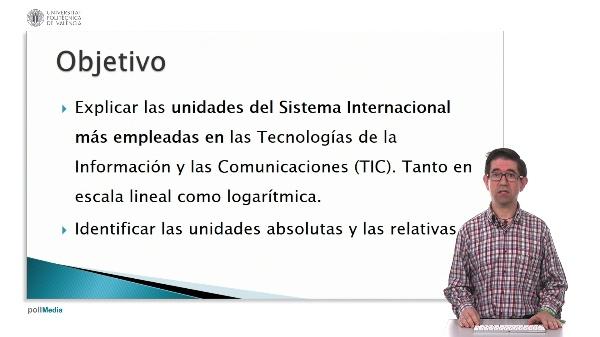 Unidades lineales y logarítmicas para telecomunicaciones.