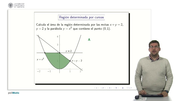 Cálculo de áreas más complejas II