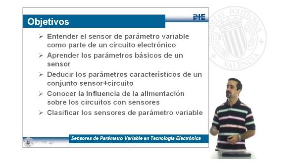 Sensores de Parámetro Variable en Tecnología Electrónica