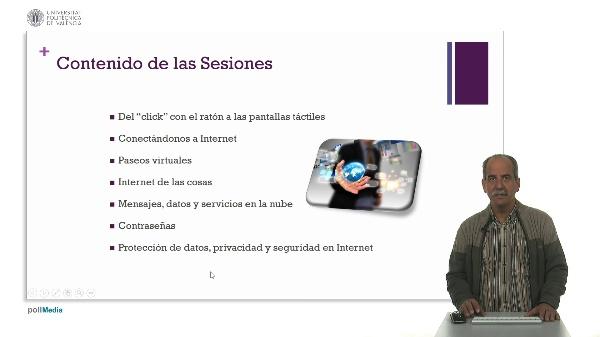 Servicios y aplicaciones de Internet en la punta de los dedos I.