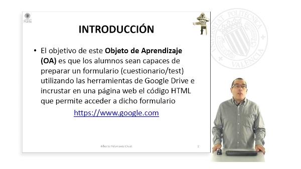 Formularios ( Google DRIVE )