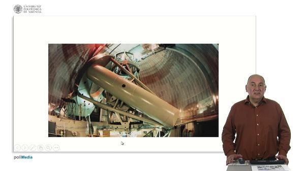 Óptica activa y adaptativa en telescopios