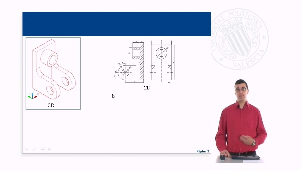 Iniciación al entorno de diseño 3D con AutoCAD. Punto de vista, estilos visuales y orbita 3D.