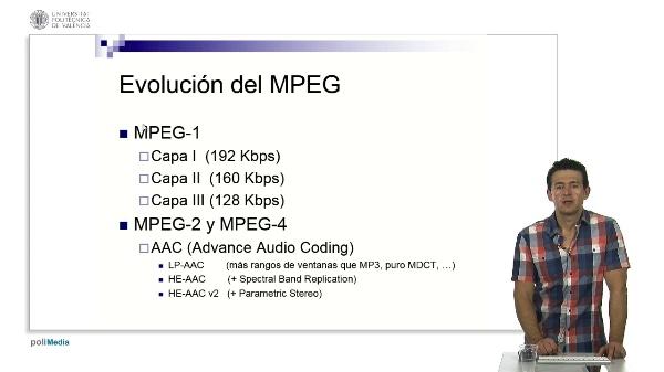 El grupo de estándares MPEG