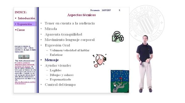 Presentaciones en Publico. Ejemplo de una BUENA presentación