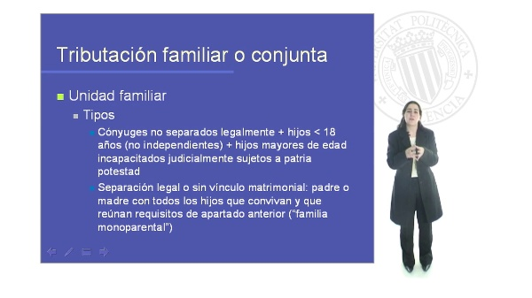 Planificación Fiscal. Tributacion Familiar