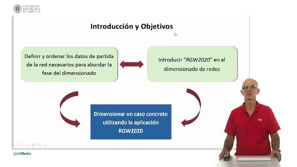 Dimensionado de la red de transporte de un sistema de riego presión utilizando la aplicación RGW2020