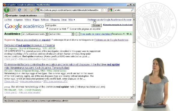 Exportar referencias desde Google académico a RefWorks