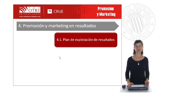 Promoción y marketing en resultados