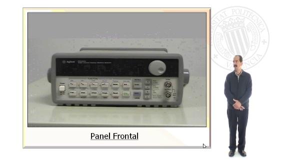 Generador de Funciones. HP 33120 A. Osciloscopio digital TDS220 y TDS 320