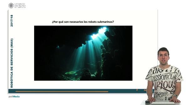 Robotica de servicios. Robotica submarina.