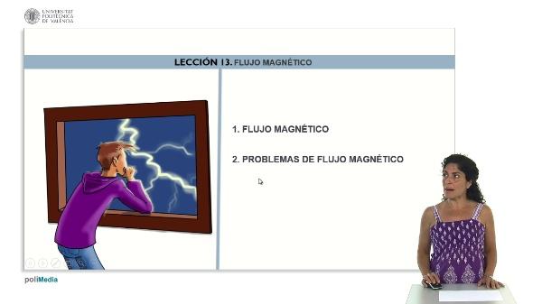 Induccion magnetica. Flujo magnetico