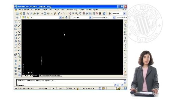 Introducción al entorno y forma de trabajo en AutoCAD