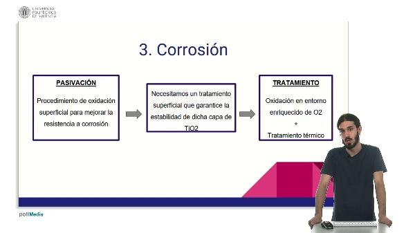 Corrosión y biocompatibilidad