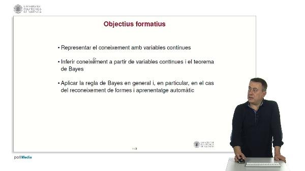 Raonament probabilístic: variables contínues i regla de Bayes