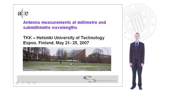 Antenna Measurements for Millimeter and Submillimeters Wavelenghts