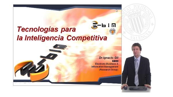 Tecnologías para la inteligencia competitiva