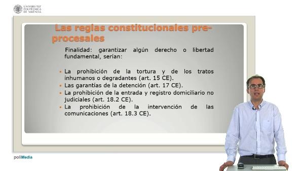 Los derechos del detenido en la Constitucion Espa?ola de 1978
