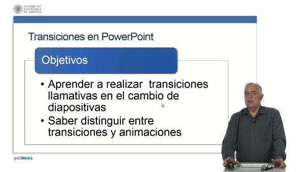 Transiciones en PowerPoint
