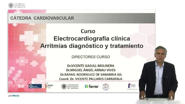 Curso Electrocardiografi¿a cli¿nica Arritmias diagno¿stico y tratamiento