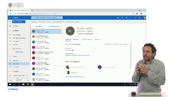 MOOC Office 365. Eliminar un grupo