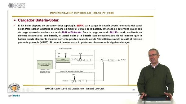 Cargador baterias solar