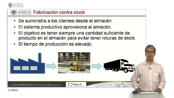 Cálculo del tamaño de lote en sistemas de fabricación contra stock