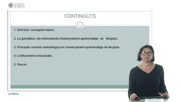 Corrents metodològics en l¿ensenyament de segones llengües.
