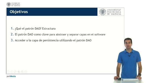 El patrón DAO (Data Access Object). Manteniendo la persistencia de datos