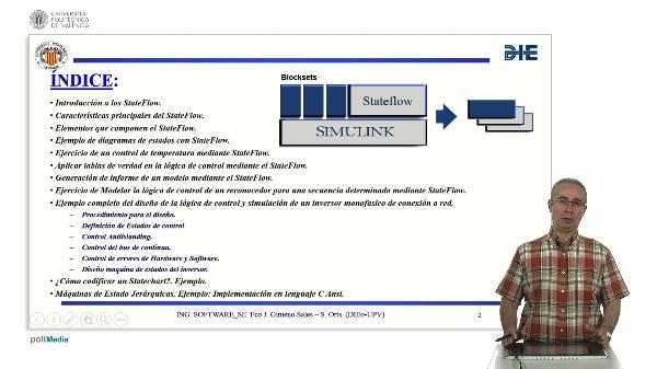 Curso de ingeniería del software para sistemas embebidos. Modulo 13 parte 1. StateFlow_MATLAB