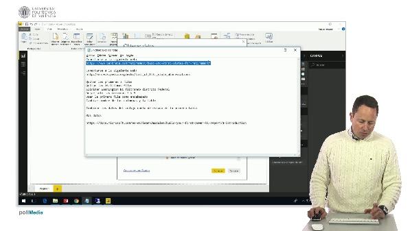 MOOC Power BI.  Ejemplo inicial parte 1. carga de datos