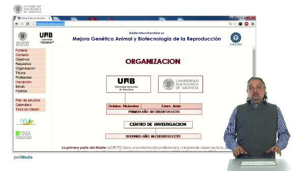 Master Interuniversitario en Mejora Genética Animal y Biotecnología de la Reproducción