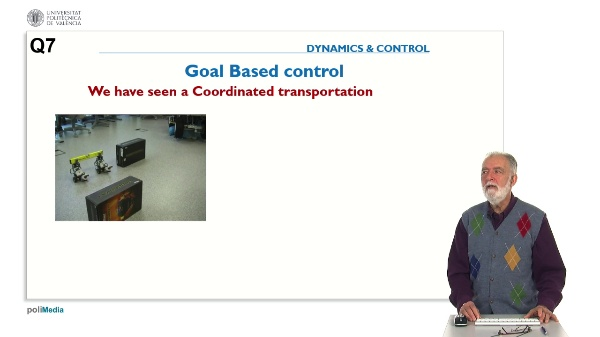 Propierties of Controlled Systems. Question 7. Control achievements