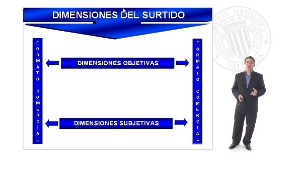 Dimensiones del Surtido