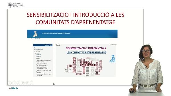 Presentació e introducció a les comunitats d'aprenentatge
