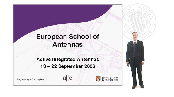 Active Integrated Antennas Course