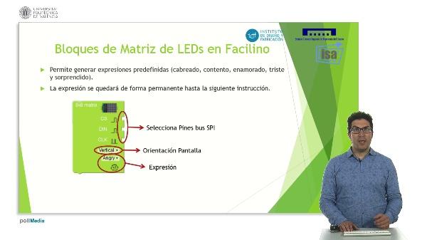 DYOR: Matriz LEDs y LCDs en Facilino