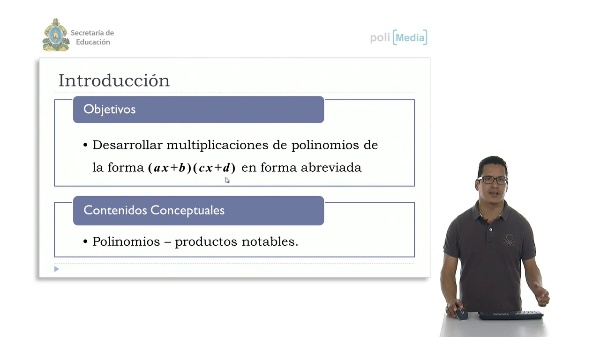 Productos de la forma (ax+b) (cx+d)