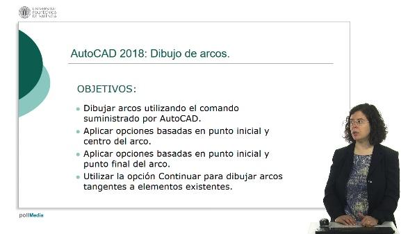 AutoCAD 2018: Dibujo de arcos