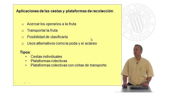 Sistemas de asistencia para la recolección de fruta fresca II