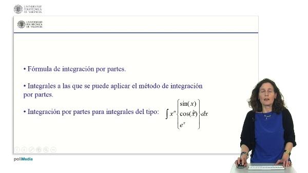 Resolución de ejercicios de integrales utilizando el método de integración por partes. Integración iterativa