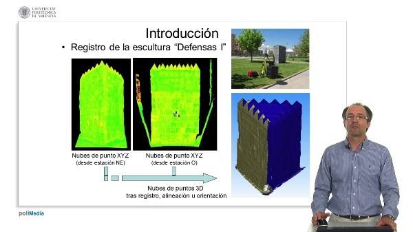 Registro indirecto de datos LiDAR